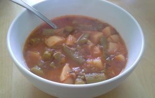 Spargljeva juha iz spargljev (1)