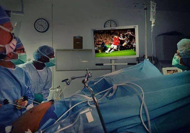 fuzbal in operacija