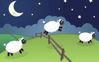 stetje ovac pred spanjem