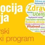 Promocija zdravja – magistrski študijski program