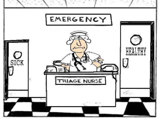 triazna sestra urgenca