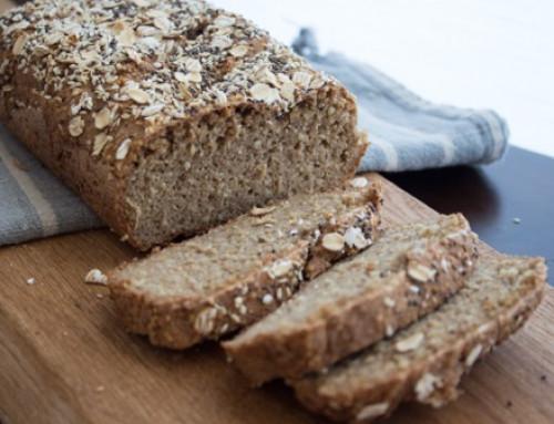 Kruh brez glutena moke in jajc