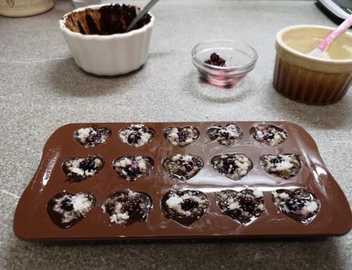 Čokoladne praline brez jajc, mleka, soje in oreščkov